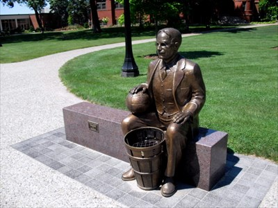 an introduction to the life of inventor of basketball dr james naismith James naismith was buried with his first wife in memorial park cemetery in lawrence kansas he had a very long list of achievements and positions held starting from a common school boy, he became the inventor or basketball, a lecturer at university of kansas, a gold medalist athlete and a soldier.