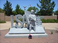 Image for Afghanistan-Iraq War Memorial: first statue for the future Veterans Tribute Park - Lake Havasu, AZ