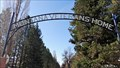 Image for Montana Veterans' Home Entrance Arch - Columbia Falls, MT