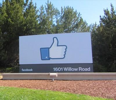 Facebook Inc - Menlo Park, CA - Publicly Held Corporation