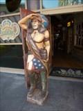 Image for Cigar Store Indian - Universal City Walk - Orlando, Florida.