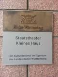 Image for Staatstheater - Kleines Haus - Stuttgart, Germany, BW