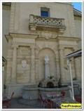 Image for La fontaine de l'Hospice - Mane, France