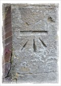 Image for Cut Bench Mark - St Peter's, Church Whitfield, Kent, UK.
