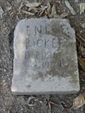Image for Enloe Rickett - Webb Chapel Cemetery - Dallas, TX