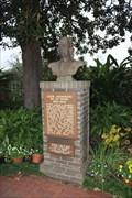 Image for Bust of St. Denis -- Natchitoches LA