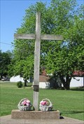 Image for Wooden Cross - Zion Evangelical Outdoor Chapel - Bland, MO