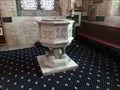 Image for Font - Holy Trinity Church - Llandudno, Wales, Great Britain.