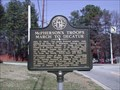 Image for McPherson's Troops March to Decatur - GHM 060-7 - Fulton Co., GA