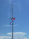Image for Flag pole-Pointe-des-Monts- Québec,Canada