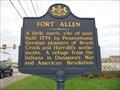 Image for Fort Allen   (Roadside Marker)