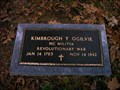 Image for Kimbrough T Ogilvie, North Carolina Militia