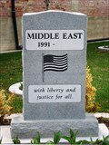 Image for Middle East Wars Memorial - Tooele, Utah USA
