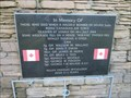 Image for Halifax Bomber 433 Squadron RCAF Memorial - Lonan, Isle of Man