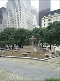 Image for Pulitzer Fountain - New York, NY