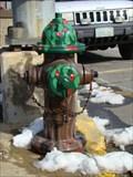 Image for Holly Tree Hydrant - West Jefferson, North Carolina