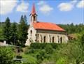 Image for Church of the Archangel St. Michael - Dolní Poustevna, Czech Republic