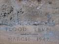 Image for 1947 Flood Mark - Bedford Town Bridge, Bedford, UK