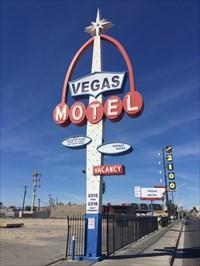 Vegas SIgn Setting, Las Vegas, Nevada