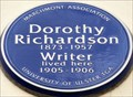 Image for Dorothy Richardson - Woburn Walk, London, UK