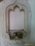 Image for Holy water stoup,  St Mary - Buxhall, Suffolk