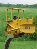 Image for Bulldozer Mailbox - Hawkestone, Ontario
