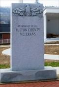 Image for Fulton County Veterans Memorial - McConnellsburg, Pennsylvania
