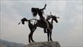 Image for Nk'Mip Man and Horse - Osoyoos, British Columbia