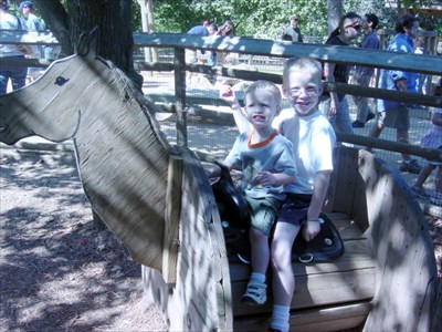 The boys on the wooden horse 2006