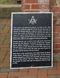 Image for Masonic Monument  - Morton Cemetery, Richmond, TX