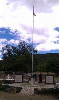 Image for Veterans Flag Pole & Standard - St. Joseph Catholic Cemetery - Yreka, CA