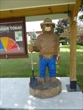 Image for Smokey Bear Wood Carving - Winchester, NH