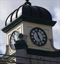 Image for Railway Station Clock - Cardiff, Capital of Wales.