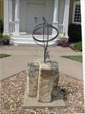 Image for Howard Patrick Memorial Sundial - Lindsborg, KS