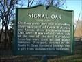 Image for Signal Oak (metal) - rural Douglas County, Kansas