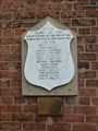 Image for World War I Memorial Plaque  - Butt Lane, Stoke- on- Trent, Staffordshire