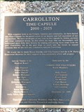 Image for Carrollton Time Capsule - Carrollton, TX