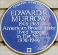 Image for Edward R Murrow - Hallam Street, London, UK