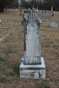 Image for Bon White - Barbee Cemetery - Edna Hill, TX