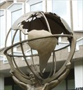 Image for Atlas Holding Earth Globe - Montréal, PQ, Canada