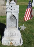 Image for Cramer, John G. and Judson A. - Troy Cemetery - Troy Township, Ohio