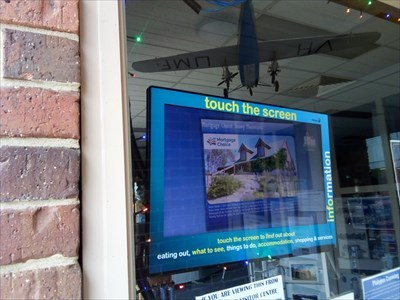A touch-screen module for when the Centre is closed. 1607, Sunday, 30 December, 2018