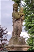 Image for Virgin Mary with Infant Jesus / Panna Marie s Jezulátkem - Tetín (Central Bohemia)