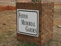 Image for Foston Memorial Gardens