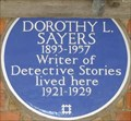 Image for Dorothy L Sayers - Great James Street, London, UK