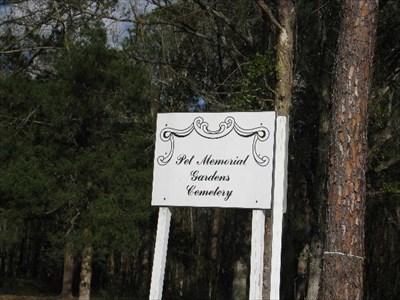 Pet Memorial Gardens Cemetery Jacksonville Fl Pet