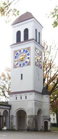 Image for Glockenturm im Südfriedhof, Nürnberg, BY, Germany