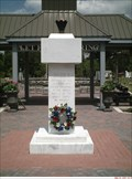 Image for Eternal Flame Monument at the entrance of newly dedicated VMP Perry, Florida