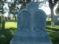 Image for William & Eliza W. Robertson - City Cemetery - Spanish Fork, UT