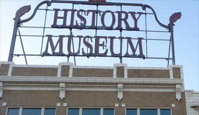 History Museum Neon - Route 66, Springfield